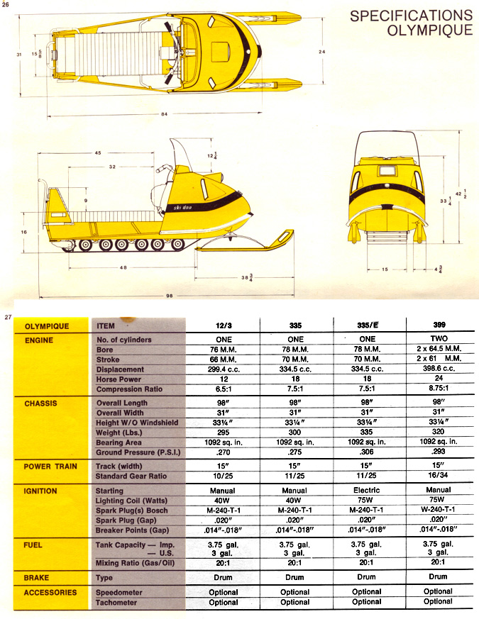 1970 ski doo manual 8 rh vintagesnowmobiles 50megs com 1970 ski doo olympique manual 1970 ski doo olympique 335 manual