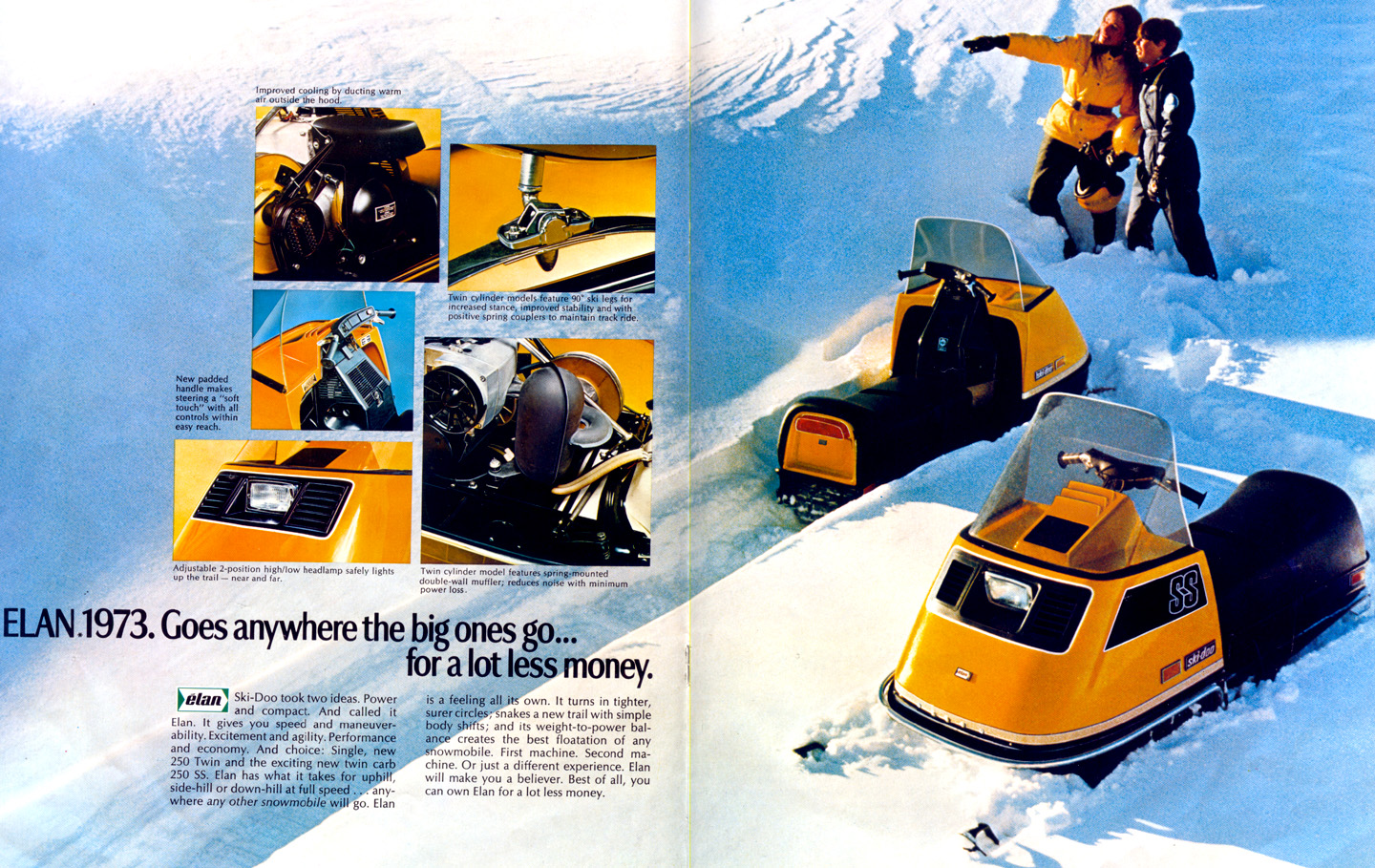 Vintage Snowmobiles and Sno Pro Race Sleds from the
