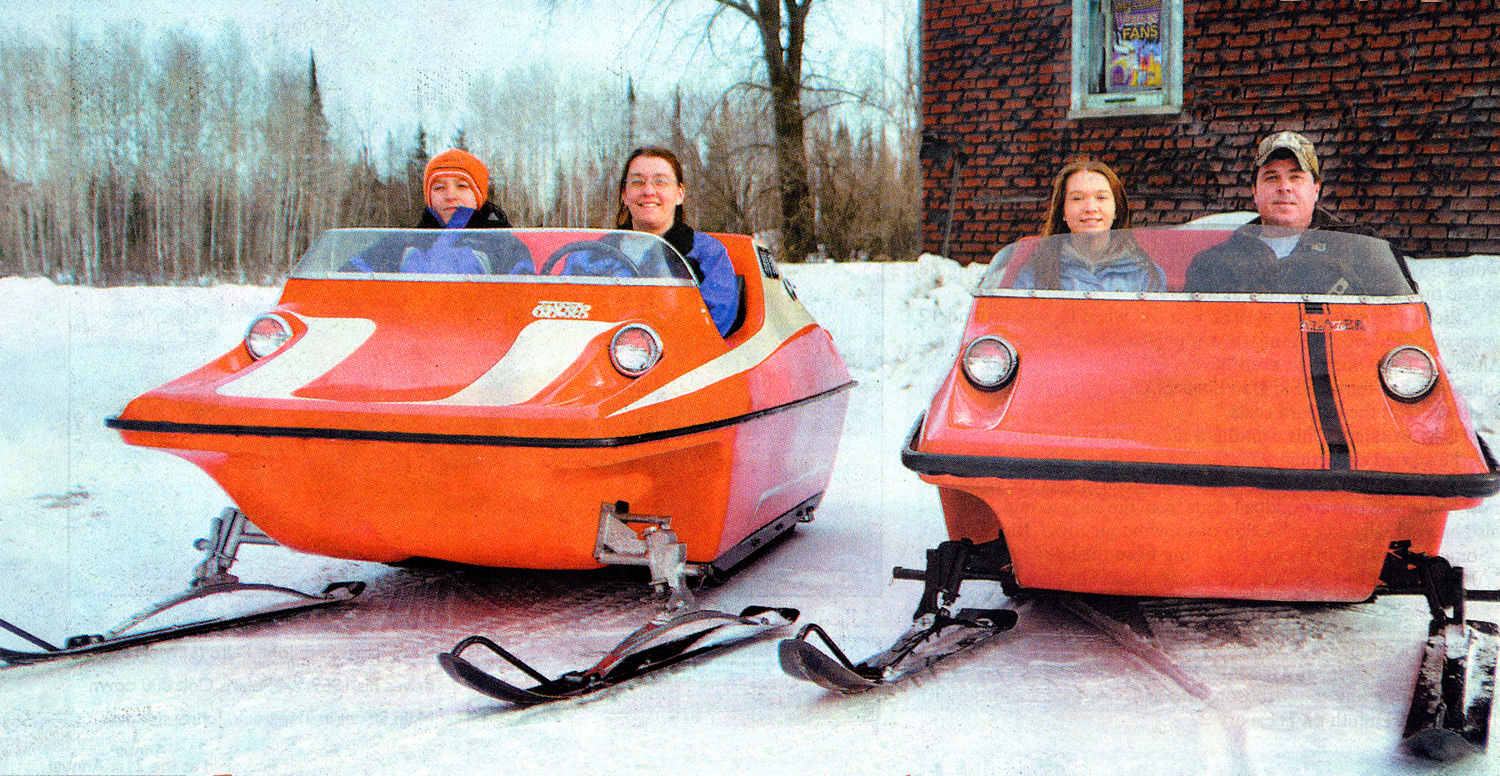 all the vintage snowmobiles longer